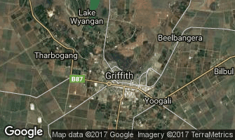Map of Griffith