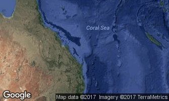 Map of Coral Sea Islands