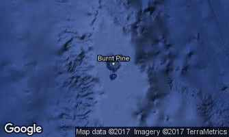 Map of Norfolk Island