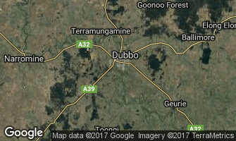 Map of Dubbo