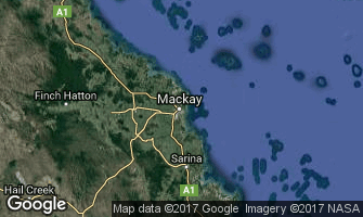 Map of Mackay