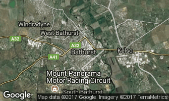 Map of Bathurst