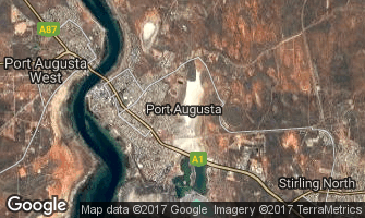 Map of Port Augusta