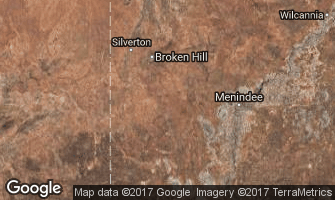 Map of Broken Hill