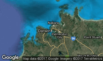 Map of Darwin