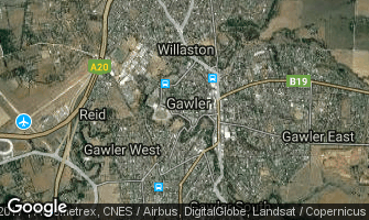 Map of Gawler