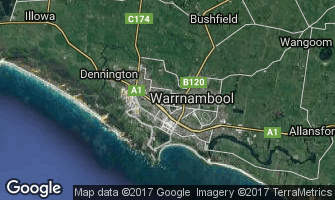 Map of Warrnambool