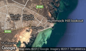 Map of Whyalla