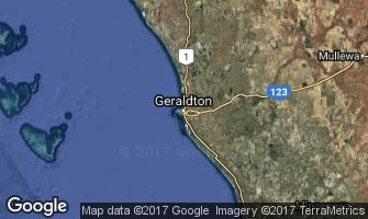 Map of Geraldton